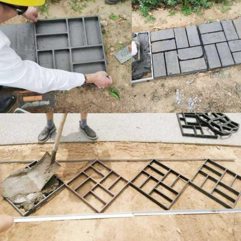 Тротуарная плитка своими руками: изготовление пошагово, как сделать самостоятельно