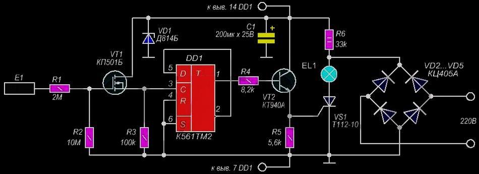 Сенсорный выключатель света: особенности, критерии выбора, изготовление своими руками