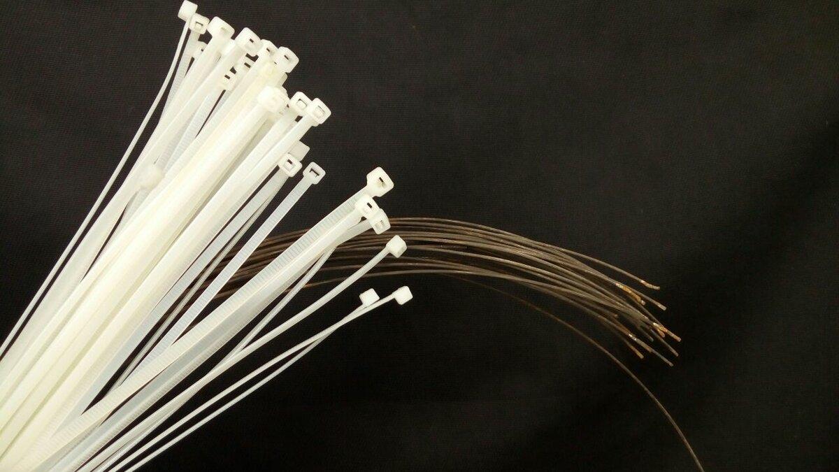 24 необычных способа использования пластиковой стяжки : labuda.blog