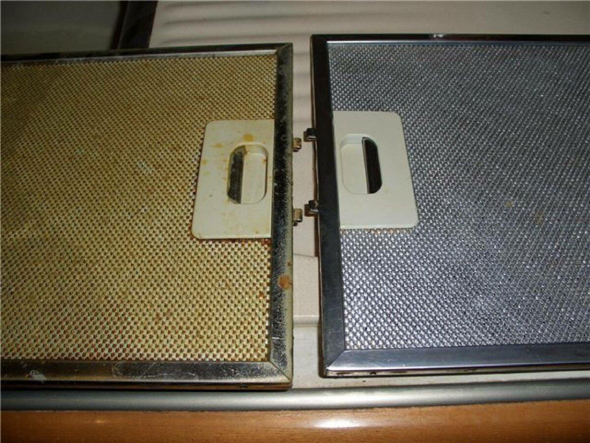 Как и чем почистить вытяжку и ее фильтр от жира на кухне