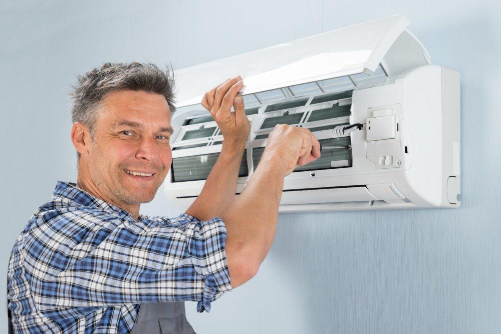 Что делать, если из кондиционера зимой в помещение попадает холодный воздух