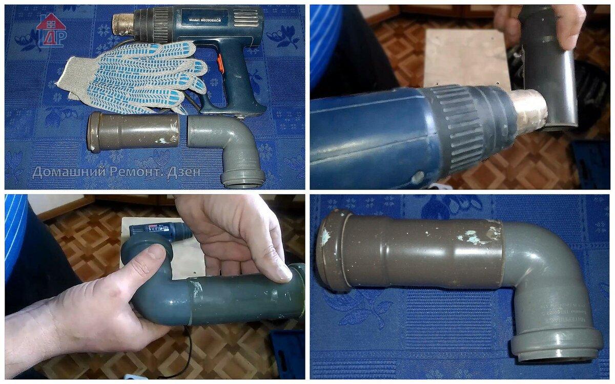 Соединение канализационных труб: как соединить пластиковые трубы