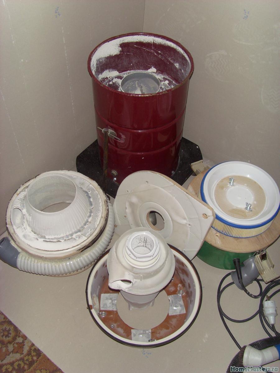 Как сделать циклон для пылесоса своими руками: устройство сепаратора + пошаговый инструктаж по изготовлению