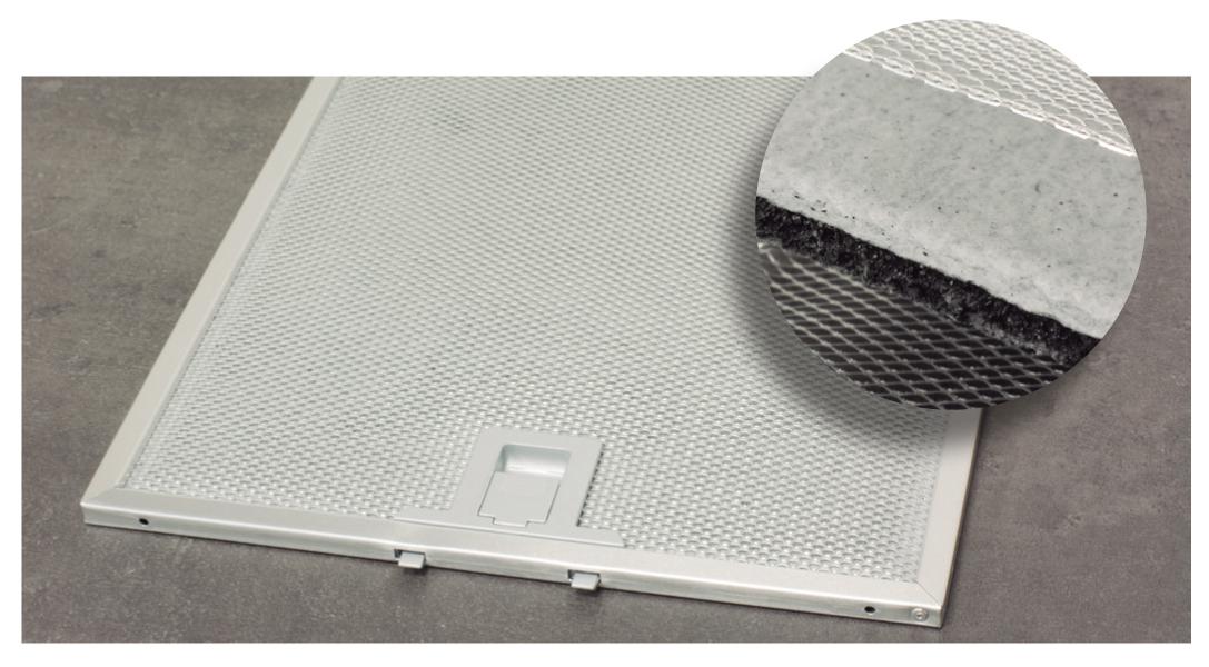 Алюминиевый фильтр для вытяжки - виды (анодированный, от жира), плюсы и минусы, правила выбора
