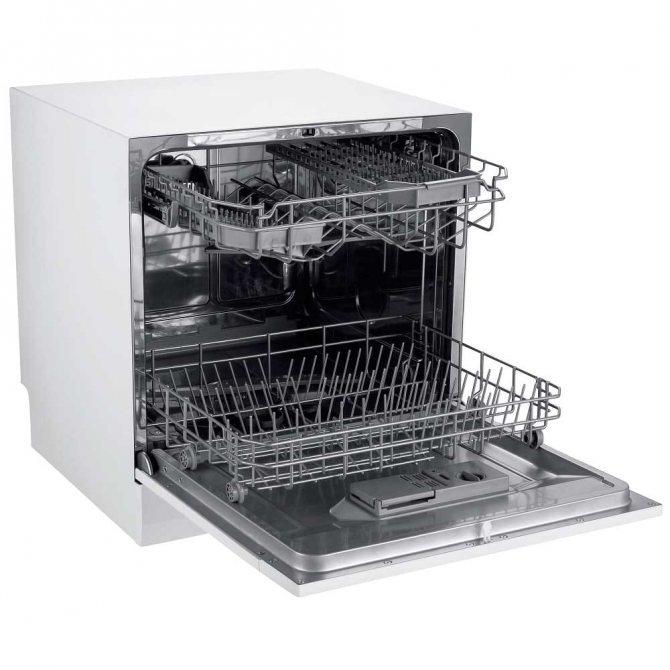 Настольные посудомоечные машины: рейтинг топ-10 моделей + правила выбора - точка j