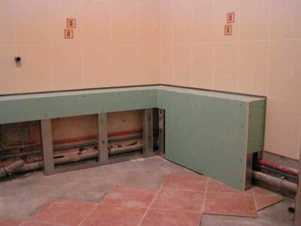 Как закрыть трубы в туалете: как лучше спрятать и скрыть трубопровод