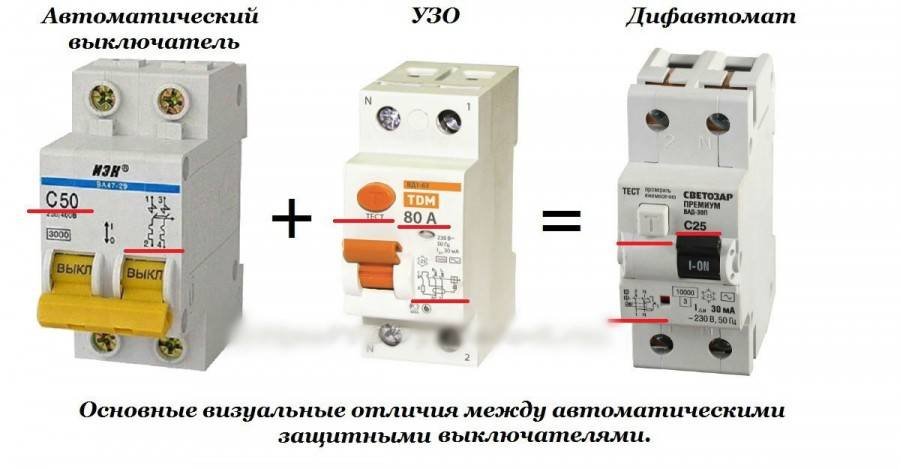 Автомат или дифференциальный автомат как отличить и что выбрать