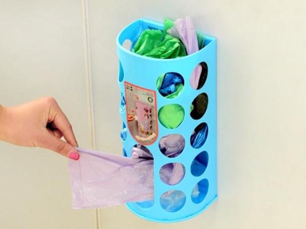 Как хранить пакеты на кухне — идеи и лайфхаки, где можно хранить полиэтиленовые пакеты, хранение дома, как можно сложить