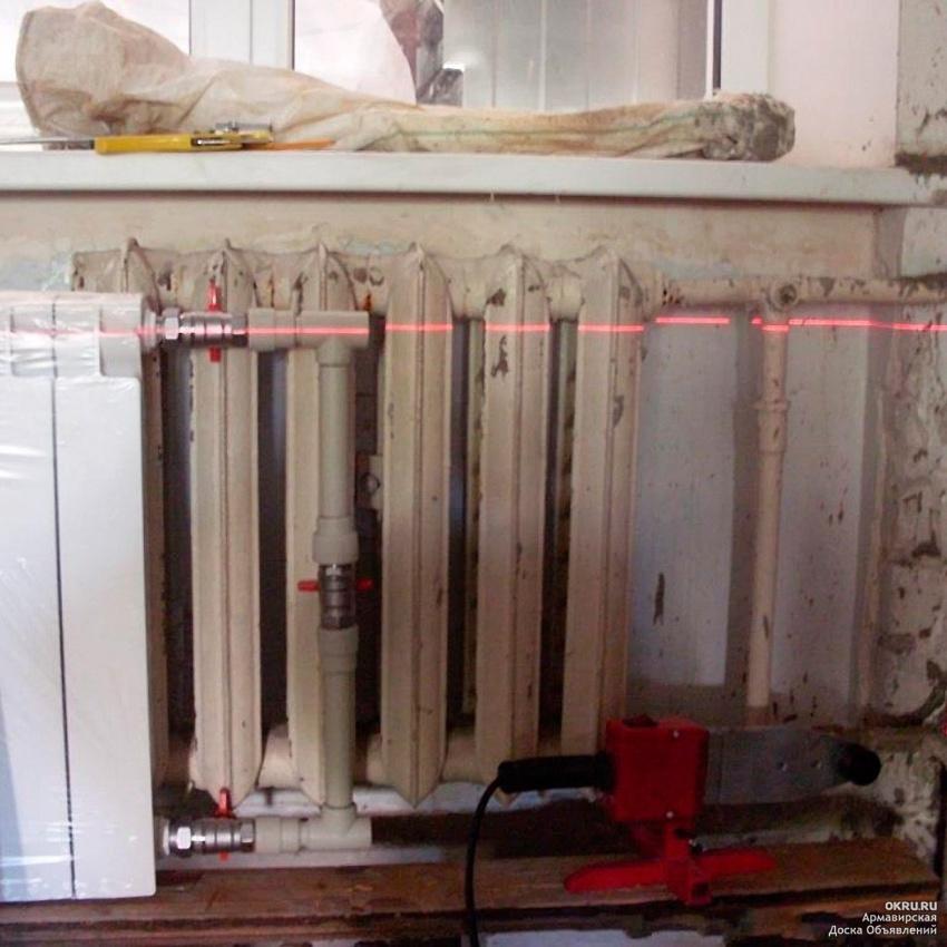 Замена батарей отопления в квартире | замена радиаторов отопления в квартире своими руками