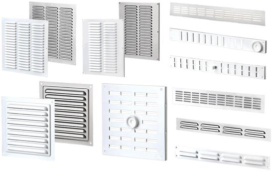Декоративная решётка для вентиляции: где лучше установить и как подобрать оптимальную модель