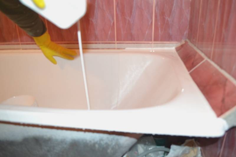 Восстановление чугунных ванн: не так страшен черт…