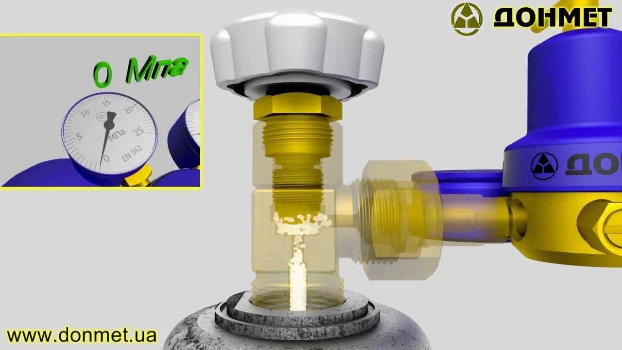 Как открутить вентиль на газовым баллоне: пошаговый инструктаж