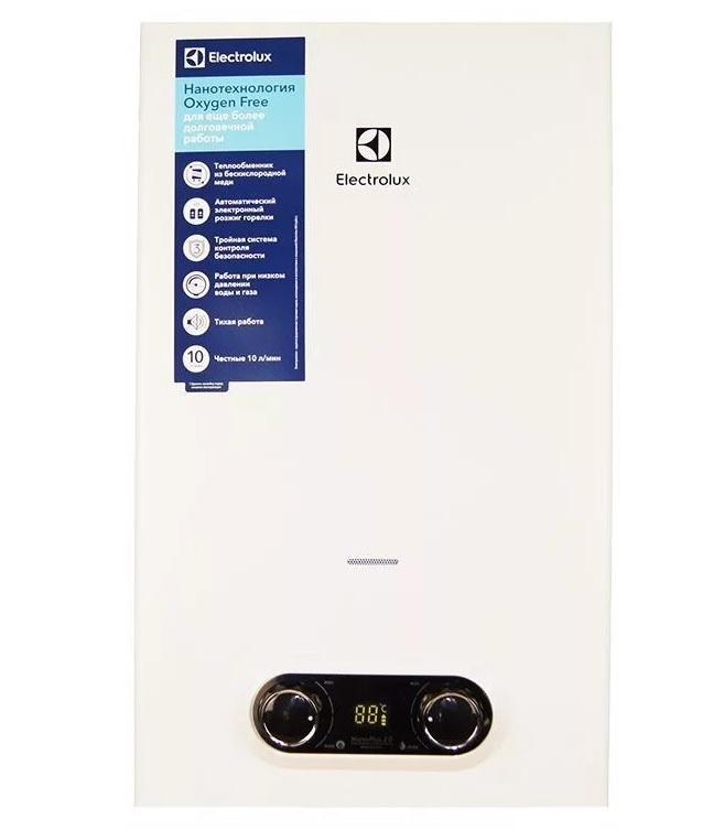 Отзывы о газовых колонках electrolux