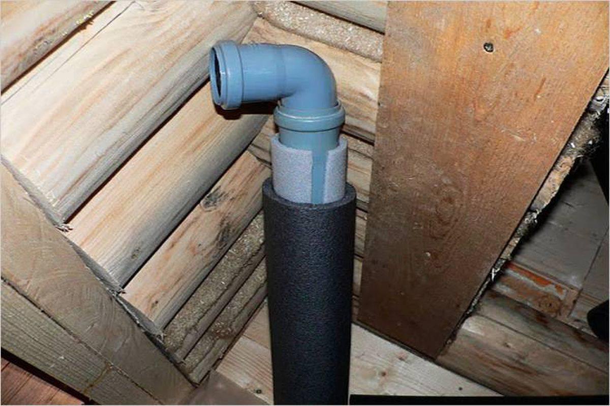 Вентиляция в частном доме из канализационных труб, сделать своими руками