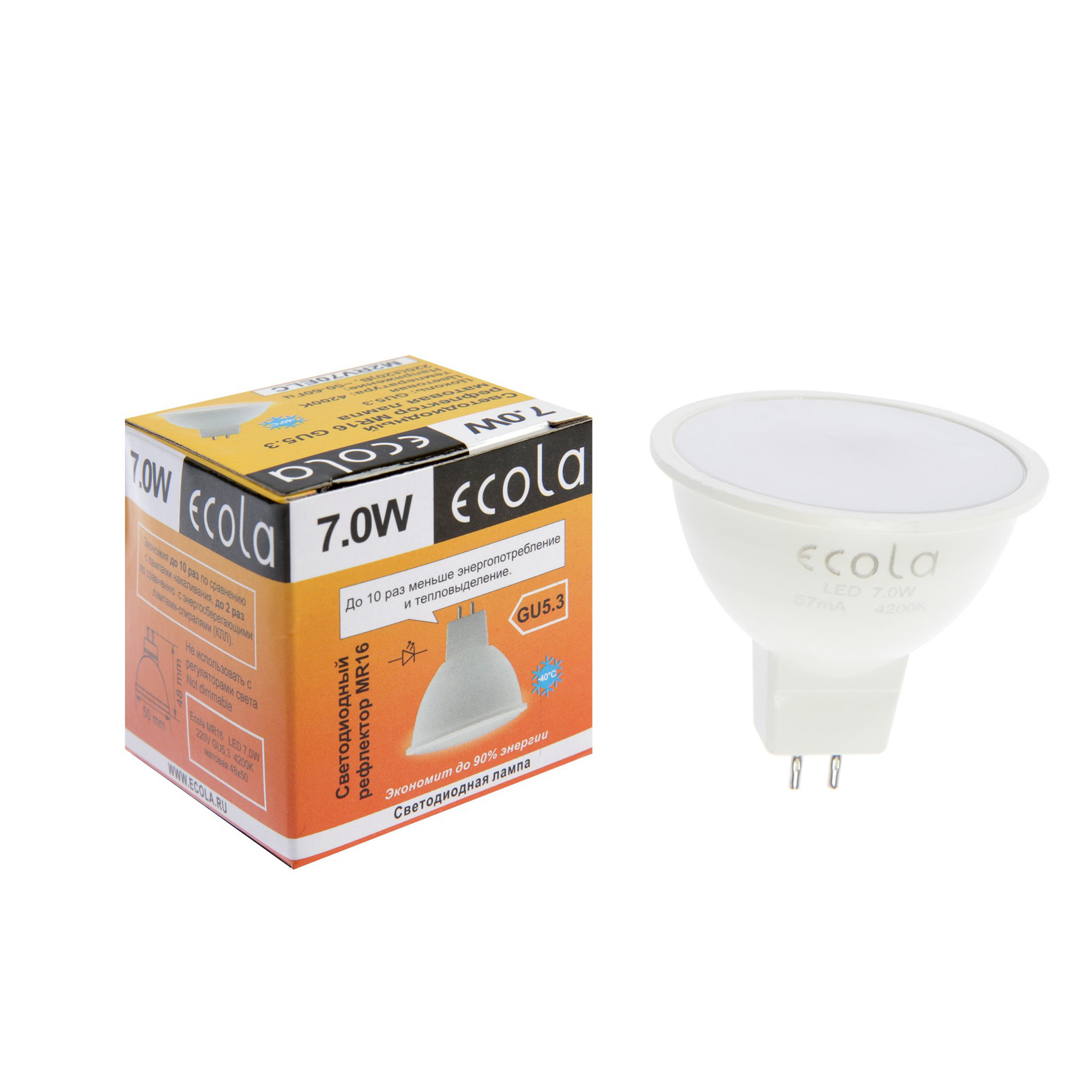 Особенности и характеристики светодиодных ламп экола