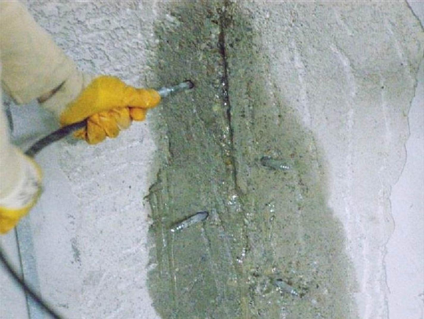 Ремонт трещин в бетоне усадочных: категории трещиностойкости