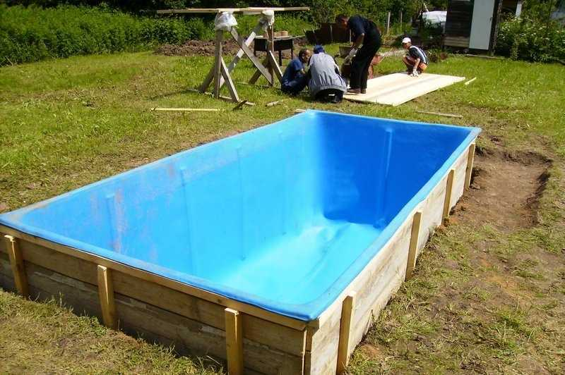Как своими руками сделать бассейн на даче: пошаговая инструкция с фото