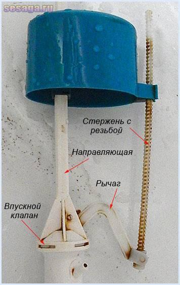 Как починить поплавок в бачке унитаза