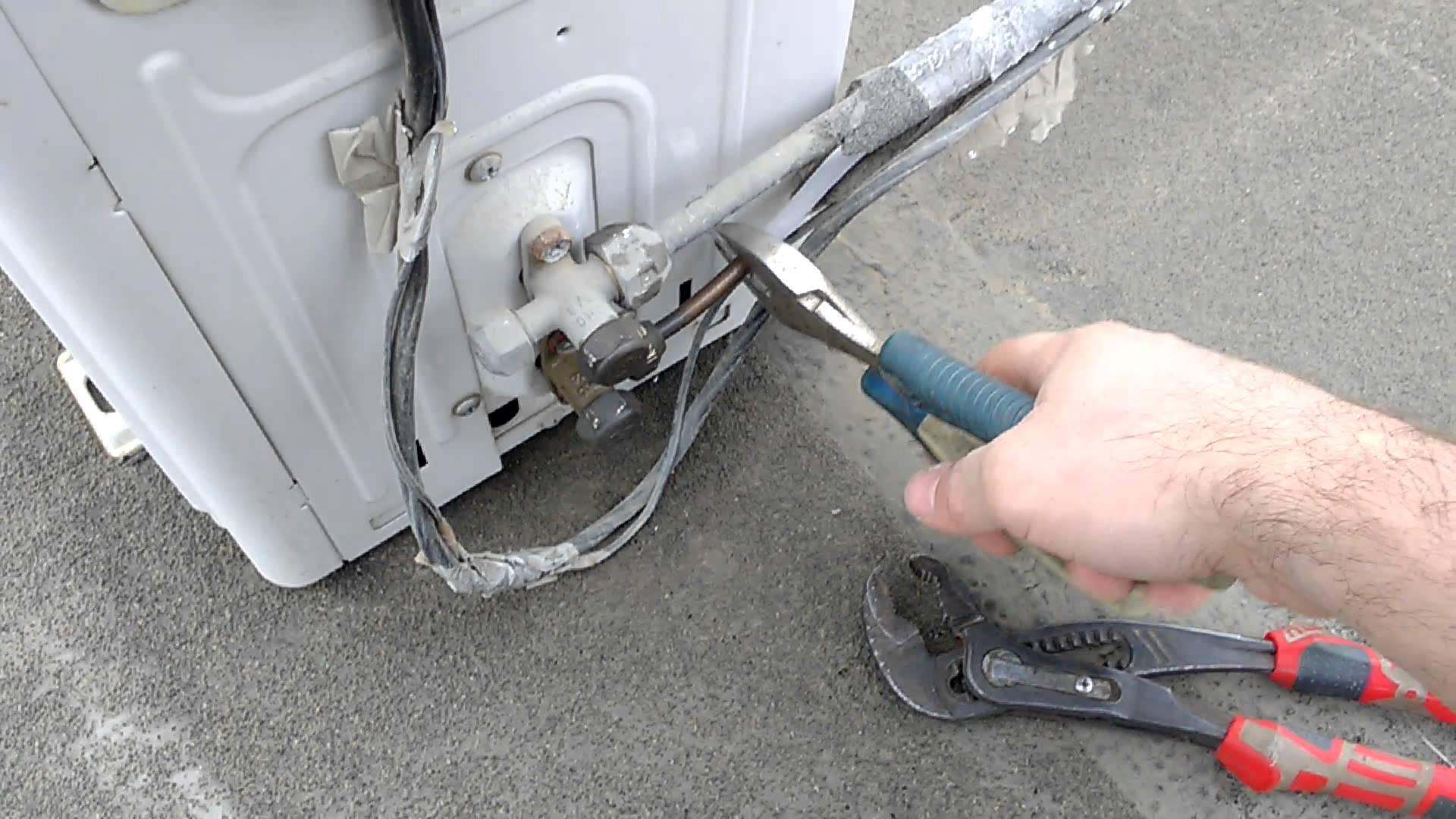 Как демонтировать кондиционер своими руками с сохранением фреона и без сохранения фреона - пошаговая инструкция