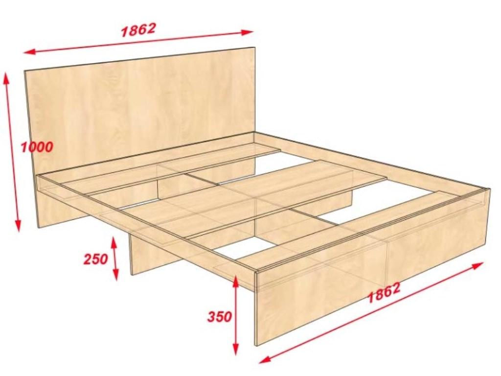 Как своими руками сделать кровать: подборка идей + инструктаж по сооружению самоделки