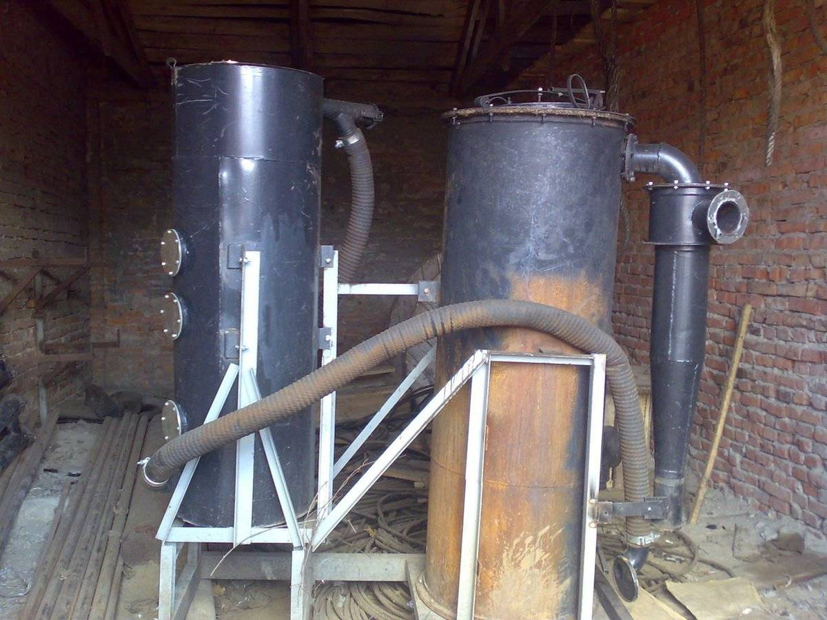 Газогенератор на дровах — как сделать своими руками. жми!