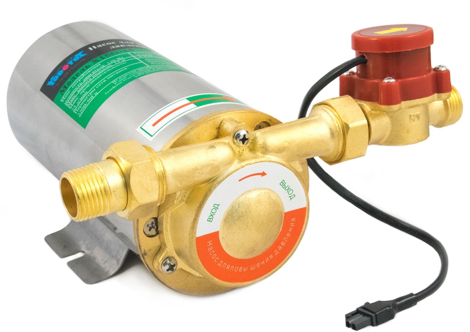 Насосы для повышения давления в системе водопровода