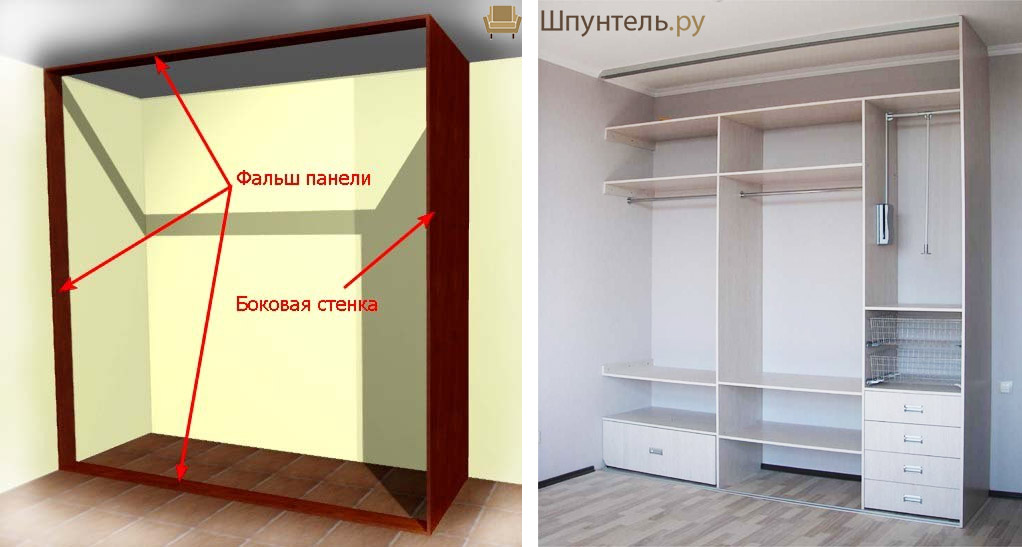Как сделать шкаф своими руками?
