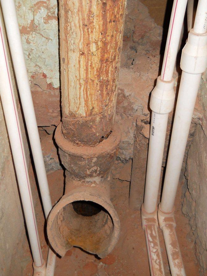 Замена канализации в доме: этапы выполнения работ / блог / myremontnow.ru