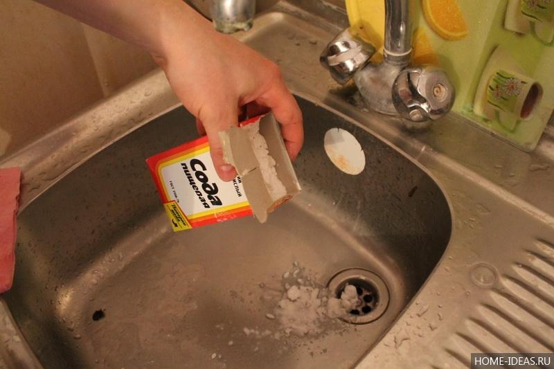 Как самостоятельно устранить засор в раковине (мойке или трубе) на кухне