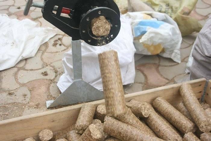 Топливные брикеты из опилок своими руками, отличное экологически чистое топливо
