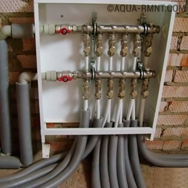 Принципы устройства коллекторной системы отопления: что такое коллектор и все про его обустройство