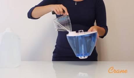Как почистить увлажнитель воздуха от накипи