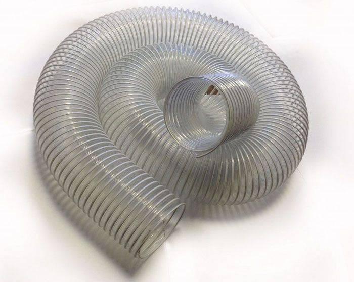 Гофра для вытяжки: размеры пластиковых и алюминиевых моделей для кухни, какой диаметр выбрать при установке