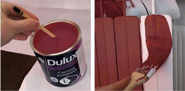 Покраска радиаторов отопления своими руками: как подобрать краску и как сделать в домашних условиях