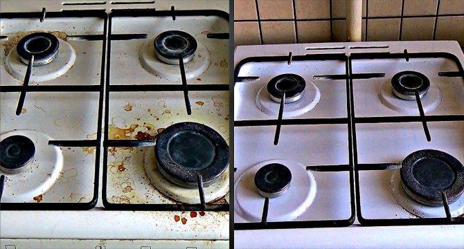 Чем покрасить газовую плиту в домашних условиях - выбор краски, малярные работы