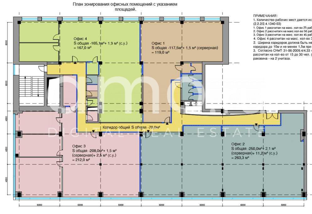 Зонирование офиса - 115 фото принципов построения дизайна интерьера
