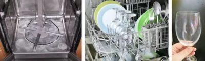 Как убрать белый налет на посуде после мытья в посудомоечной машине