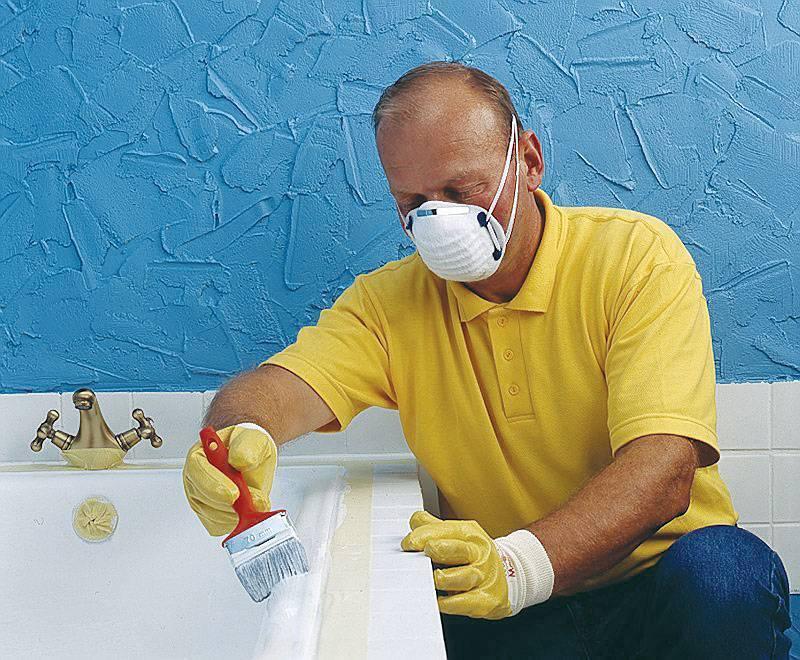 Эмалировка ванны своими руками – простые способы реставрации
