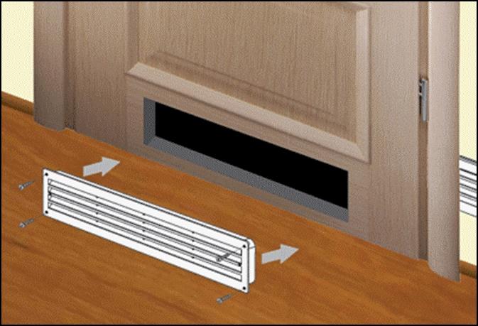 Регулируемые вентиляционные решетки