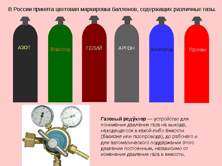 Окраска и маркировка баллонов с газами — википедия переиздание // wiki 2