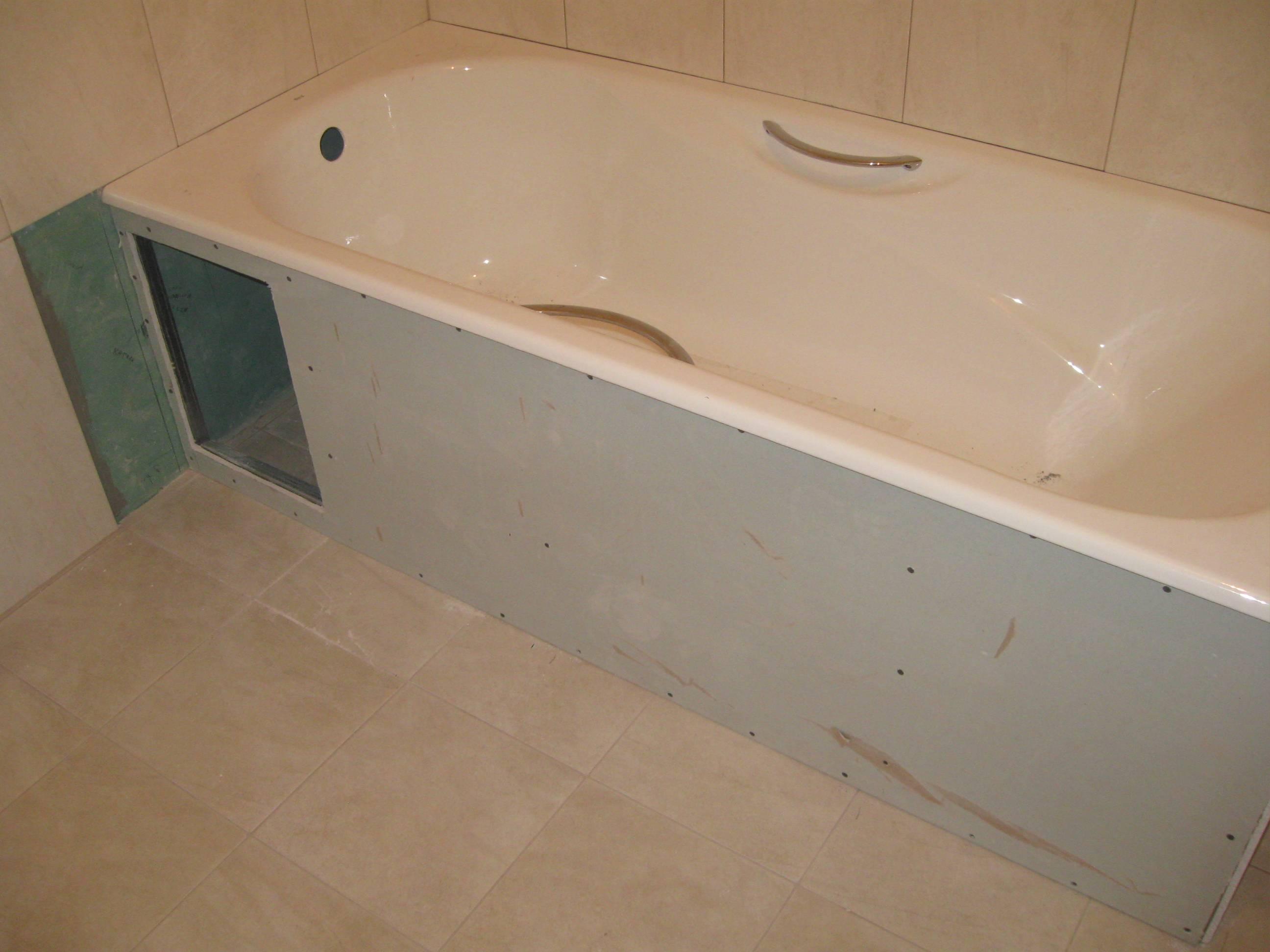 Установка экрана под ванну: особенности монтажа разных вариантов конструкции