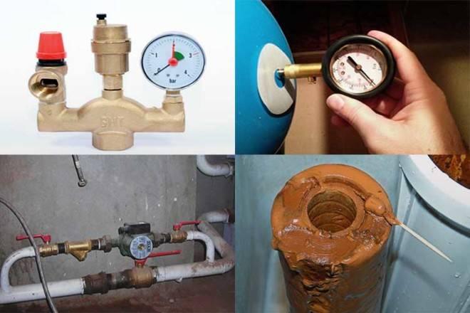Гидроудар в системе отопления - причины, что делать