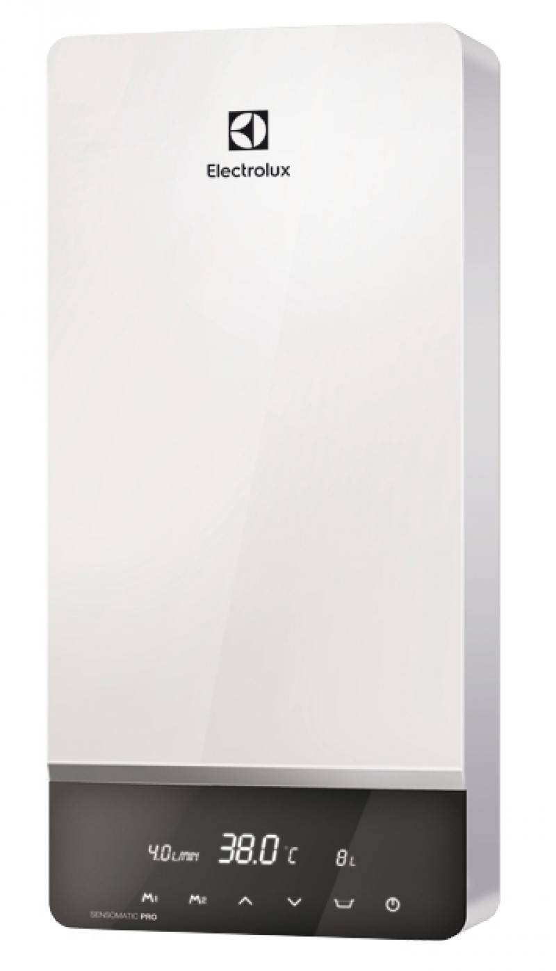 Обзор проточных водонагревателей от компании электролюкс