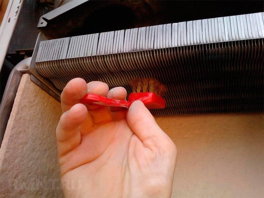 Промывка теплообменника газового котла: химическая чистка своими руками от сажи и накипи