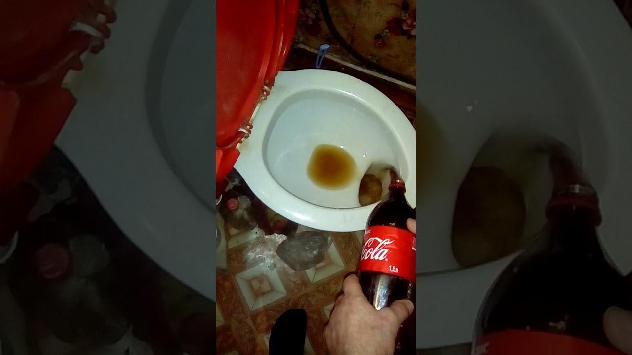 Чистка унитаза кока-колой – легко, доступно, эффективно