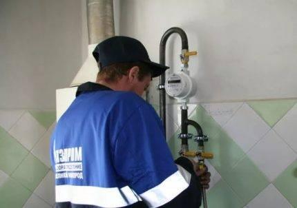 Газовый вентиль: правила выбора и схема установки
