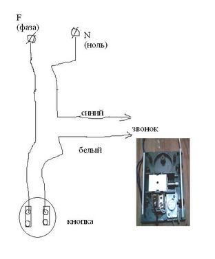 Как подключить звонок в квартире или доме своими руками