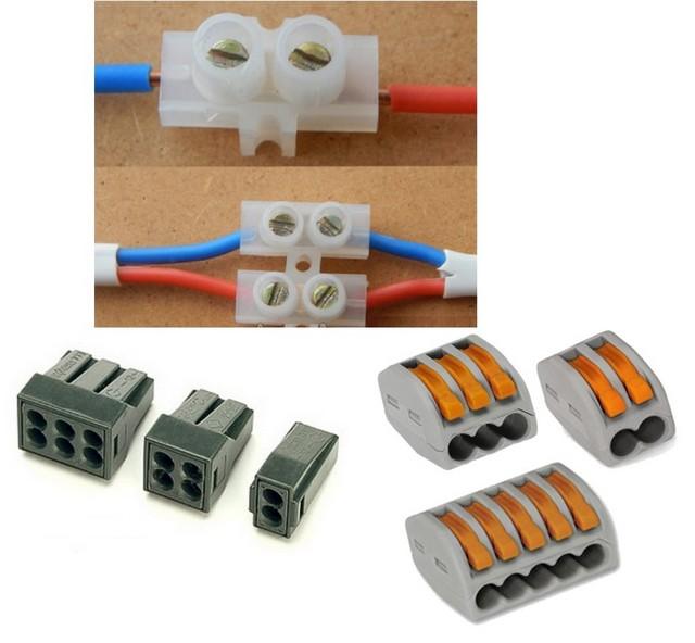Зажимы и клеммы для соединения проводов