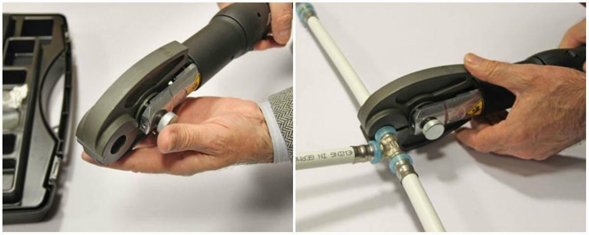 Выбираем пресс-клещи для металлопластиковых труб