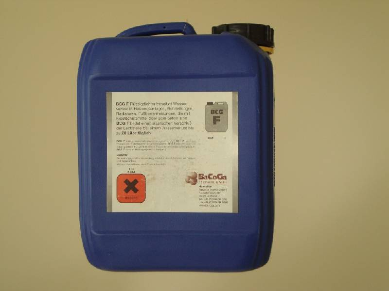 Автомобильный герметик для системы отопления дома
